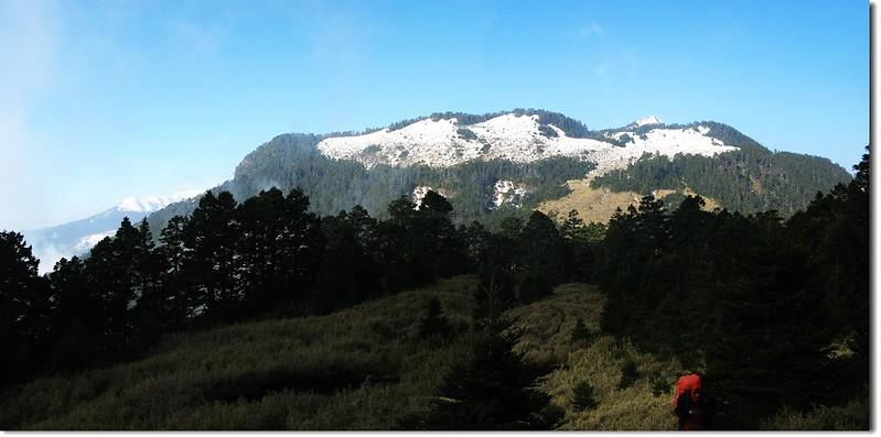 品田、雪山雪景 2