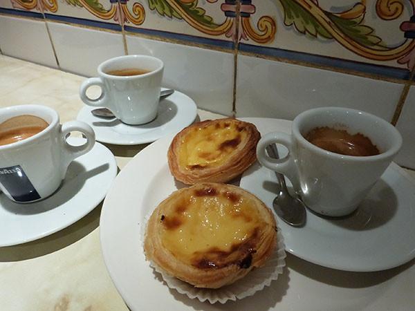 café portugais