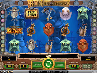 Boom Brothers slot game online review