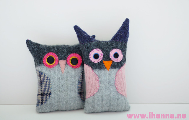 Wool Owl Sweethearts (#4 & #5)