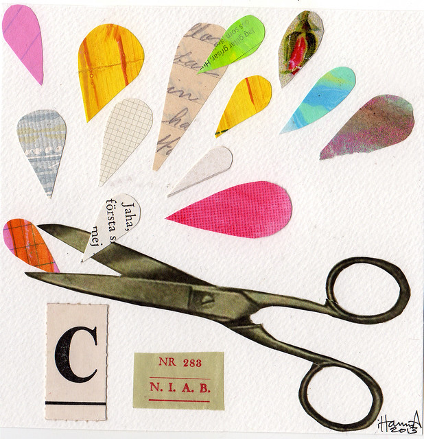 365 Collages in 2013 | Week 51 | The Scissors Edition