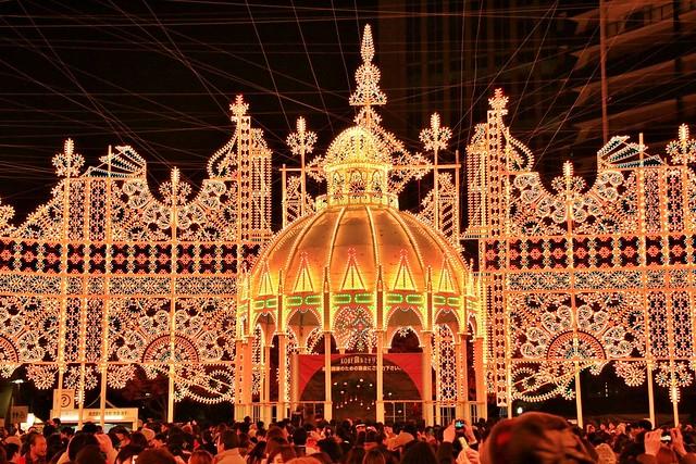 【旅遊】「神戶 光之祭典」神戸ルミナリエ * 年末最不能錯過的浪漫燈祭