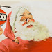 HARRY (HOMER) FREDMAN Amoco advertisement Santa Claus by Fred Seibert