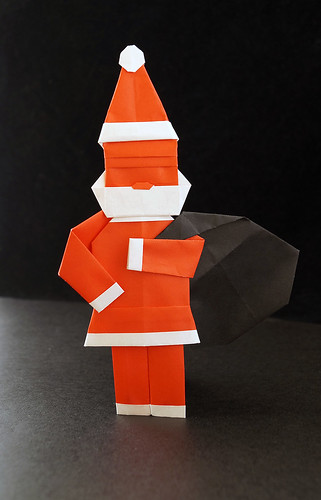 Origami Santa (designer?)