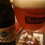 ベルギービール大好き!!アヘル・ブロンド Achel Brune アヘル醸造所(ベネジクトゥス修道院)