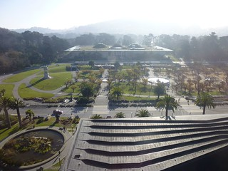 Cal Academy from the de Young