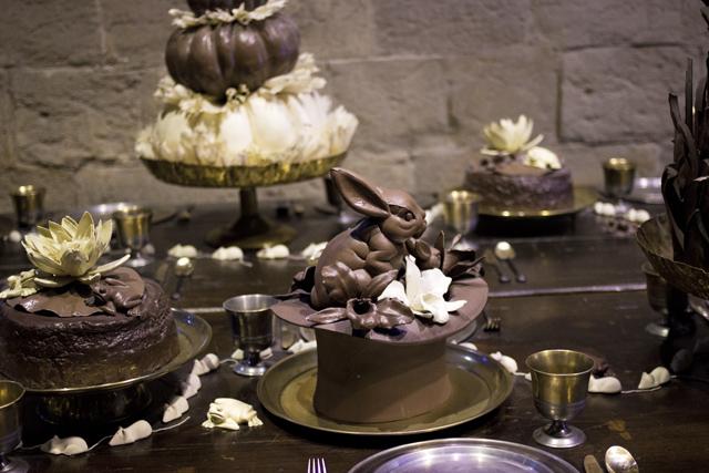 chocolate desserts warner brothers studio tour
