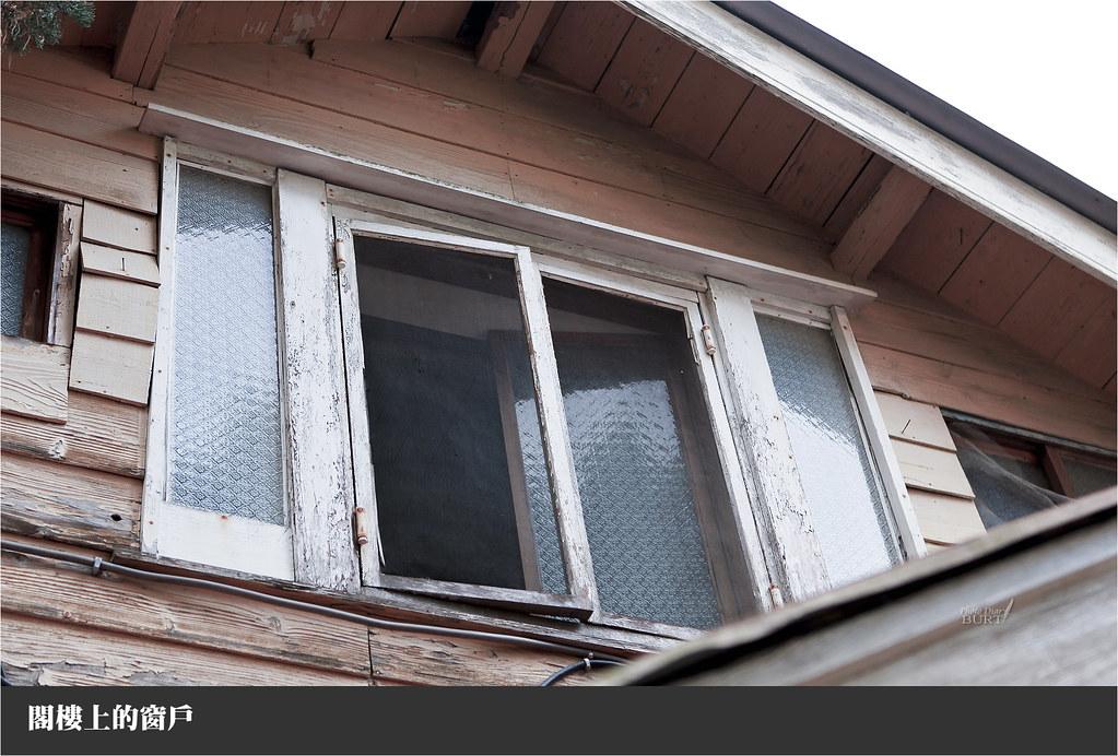 閣樓上的窗戶