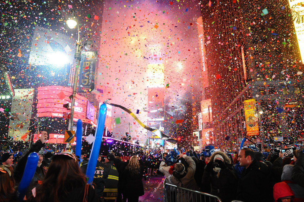 New Years Celebration in Times Square