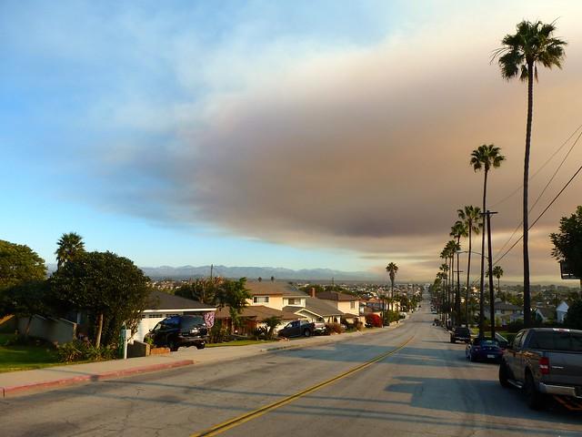 Split-sky Smoke