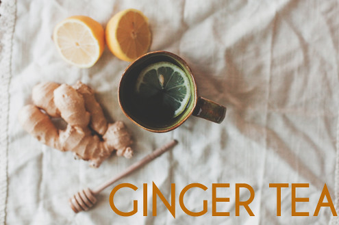 GINGER TEA // The Little Red House
