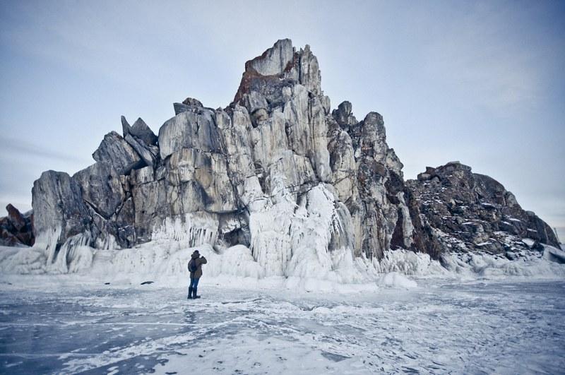 Walking on iced water