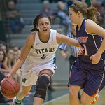 2014-01-26 -- Women's basketball vs. Wheaton.