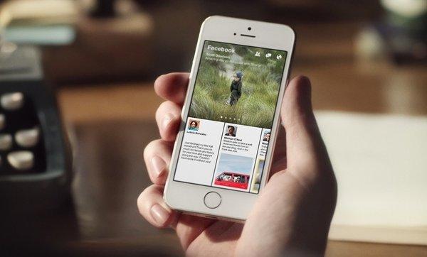Facebook Paper для iOS