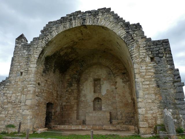 Dzibilchaltun kirkon rauniot
