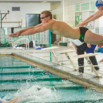 2014-02-13 -- Swimming & Diving vs. Millikin