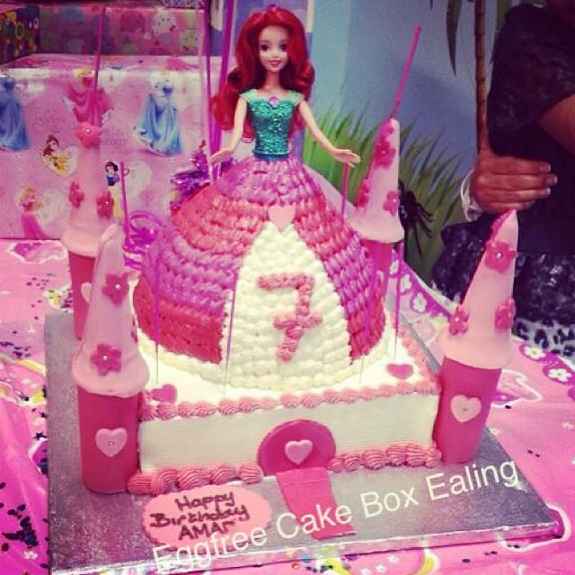 Princess Castle Cake Cake Cakebox Novelty Vegetarian Flickr