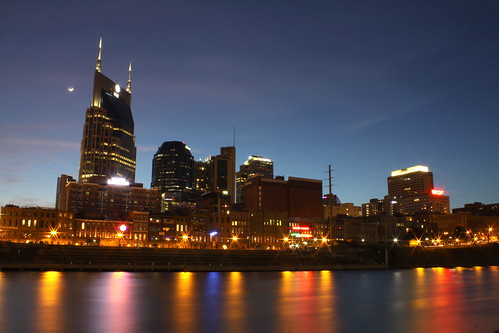 Nashville Skyline at Dusk 2014 #3
