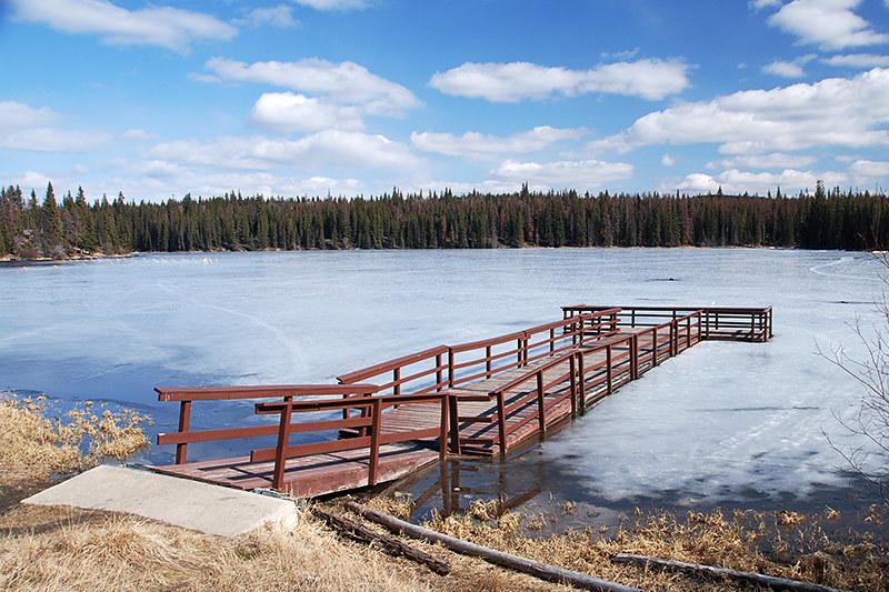 Walloper Lake Park, Kamloops, Thompson Nicola, British Columbia, Canada