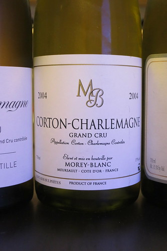 2004 Corton Charlemagne, Morey-Blanc