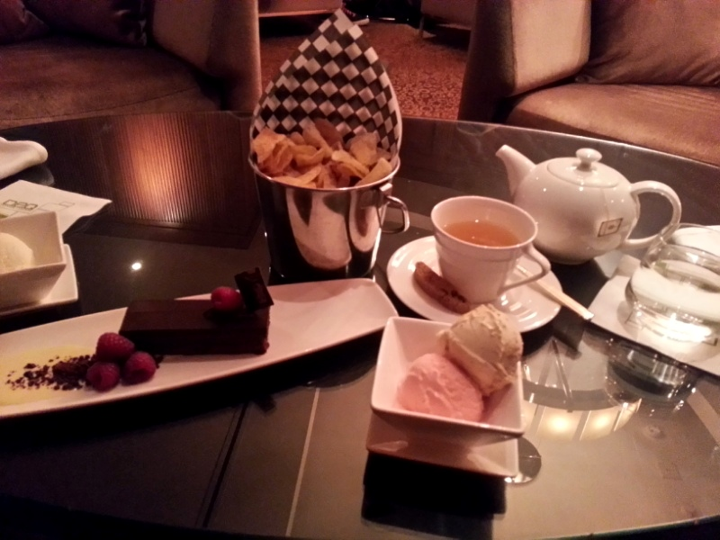 Ritz-Carlton Deq desserts
