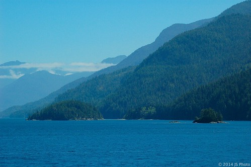 Further south, Inside Passage, BC, July 2010