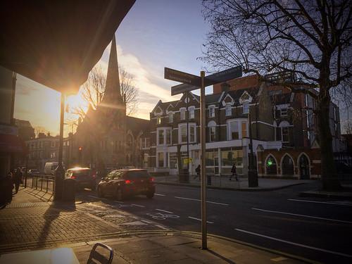 <p>King Street sunrise</p>