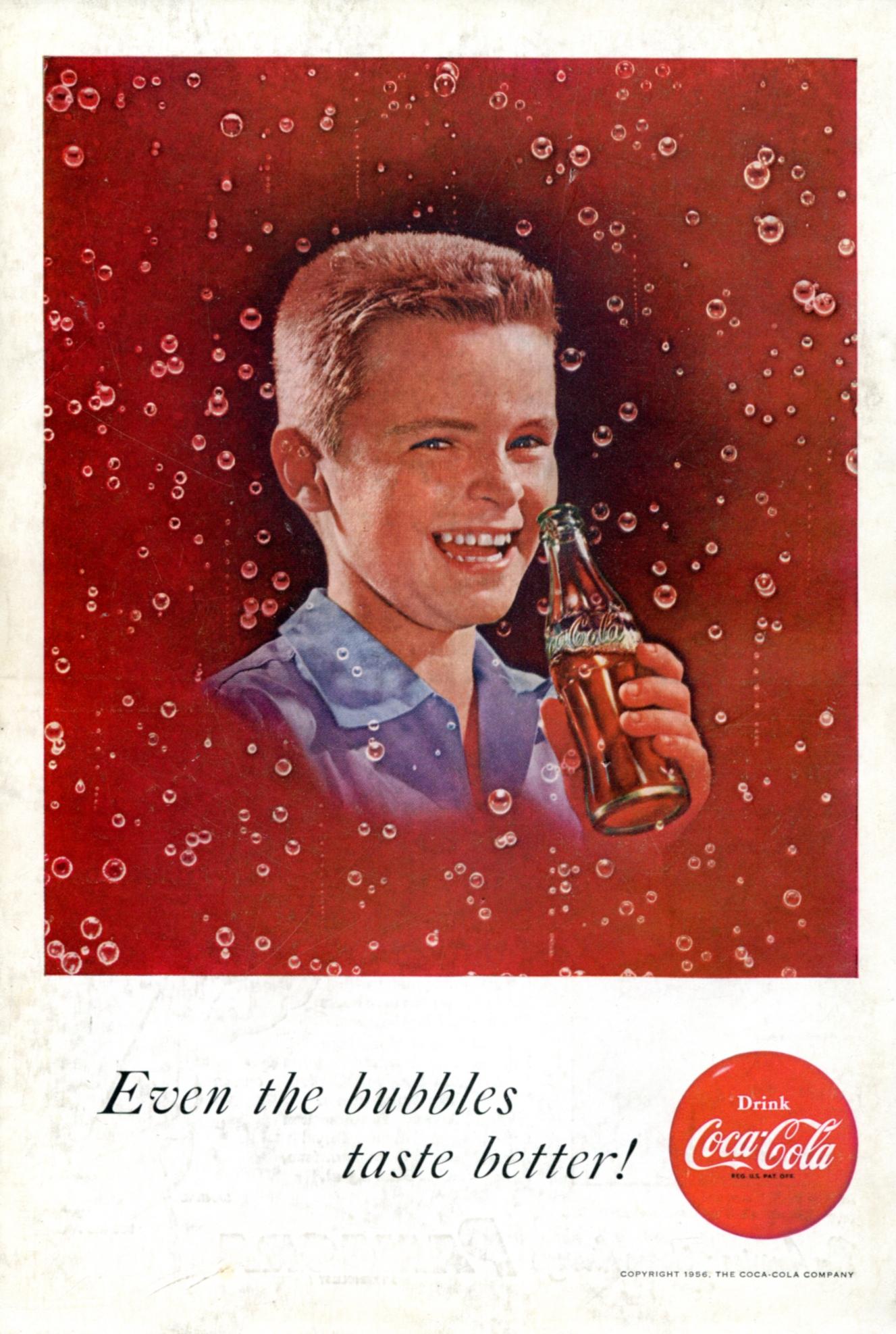 Coca-Cola - published in Reader's Digest - April 1956
