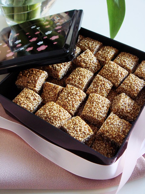 Homemade Sesame Candies