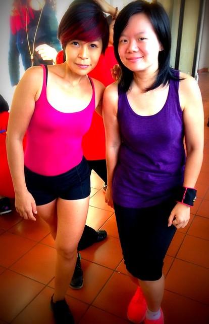 1 Celebrity Fitness Malaysia, National Kidney Foundation- Dance-athon - Rebecca Saw