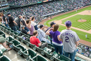 Seventh Inning Stretch at Coors Field