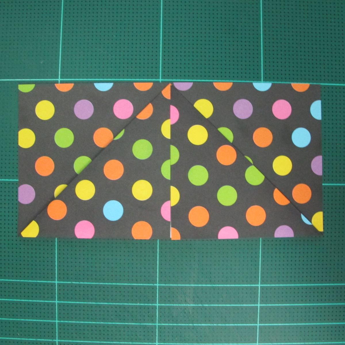 การพับกระดาษเป็นฐานดอกบัว Origami Blintz Based) 003