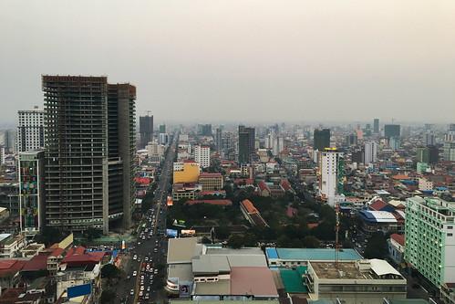 phnompenh skyline cambodia khmer cambodge cambodja buildings architecture