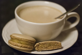 Coffee and macarons II