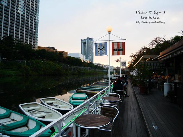 日本東京自由行賞櫻canal cafe水上餐廳 (41)