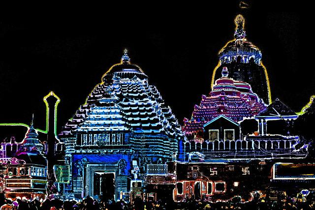 India - Odisha - Puri - Jagannath Temple - 59b
