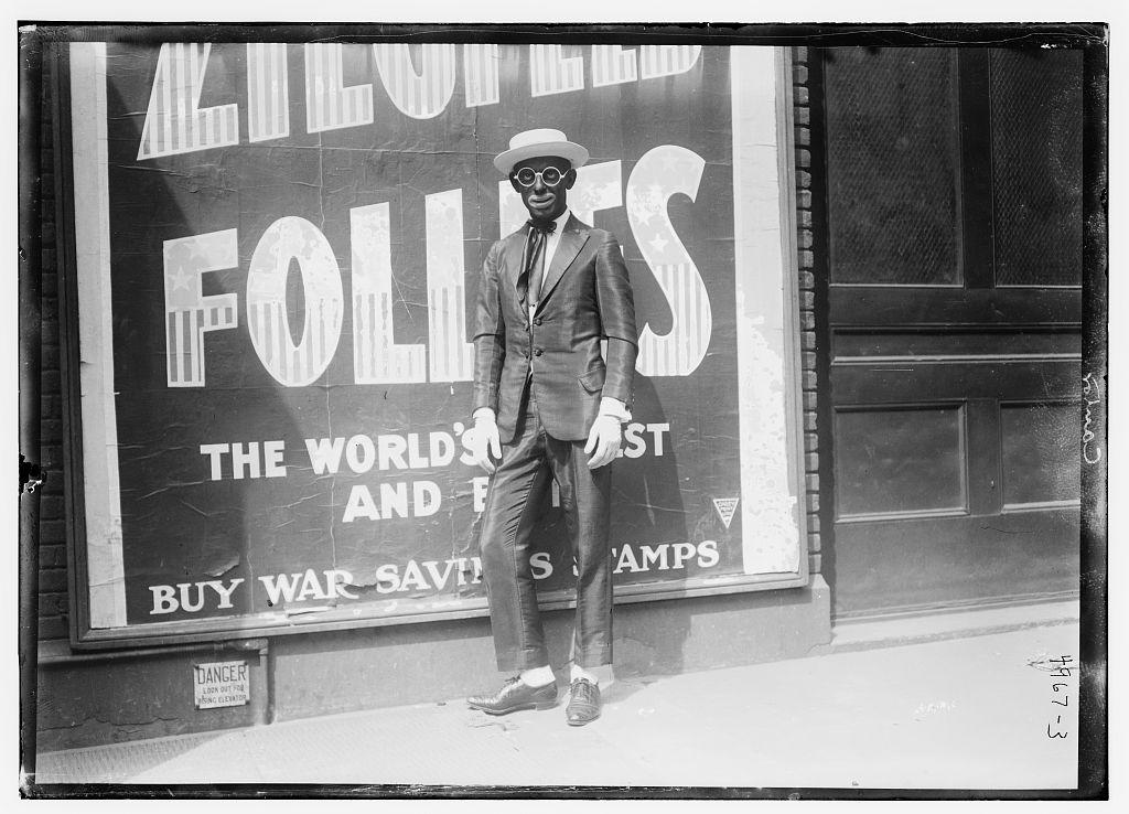 [Ziegfield Follies bill-board with ad.