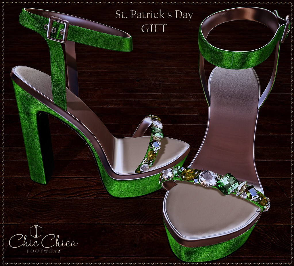 St. Patrick's Day GIFT by ChicChica - SecondLifeHub.com