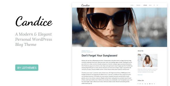 Candice WordPress Theme free download