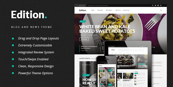 Edition WordPress Theme free download