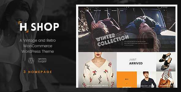 HSHOP WordPress Theme free download