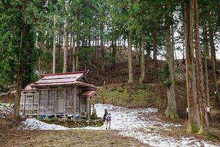 鳥坂神社・・・薬師尾根に登ります