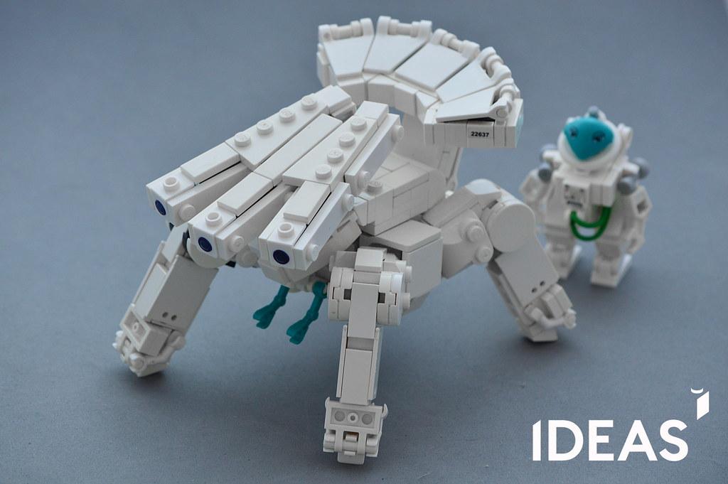 ikoma on Lego Ideas (custom built Lego model)