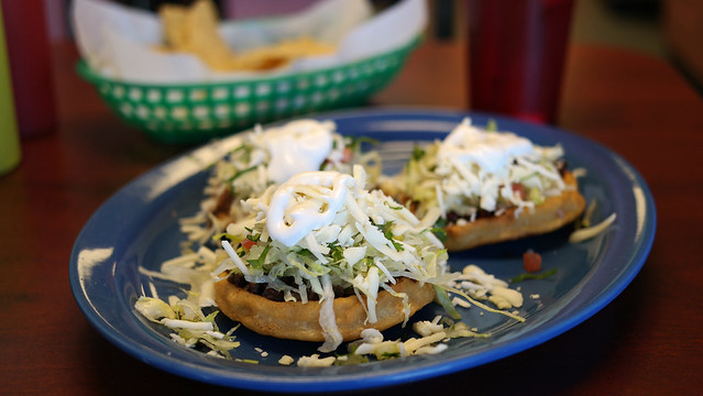 Sopes 2 El Rey Burritos in West Des Moines, Iowa