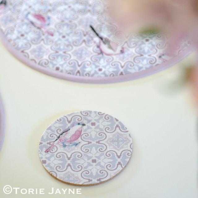 Lamifix fabric coaster tutorial