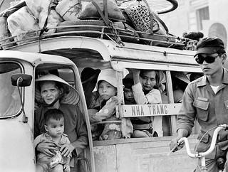 Civilians Flee Nha Trang 1975