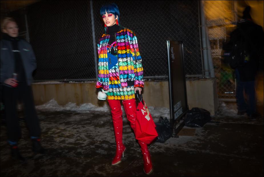 Sita Abellan...NYFW Feb. 2017