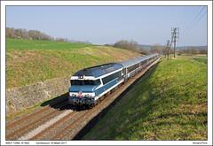 SNCF 72084 - Cendrecourt - IC1642 (25-03-2017)