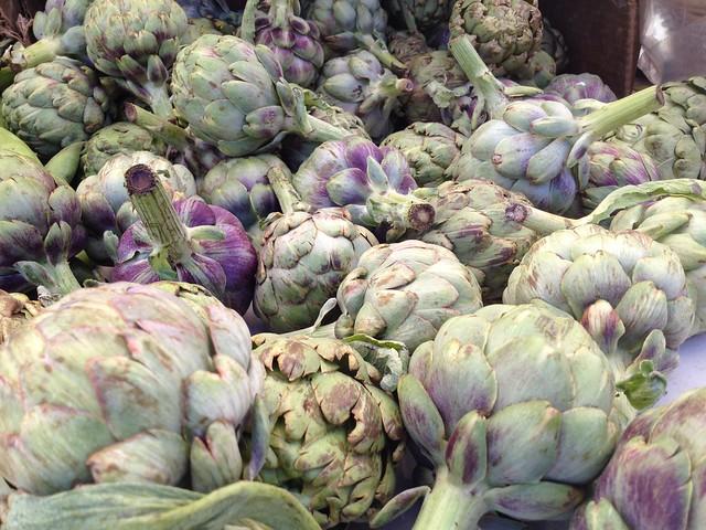 Artichokes, Marin Farmers Market