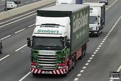 Scania R440 6x2 Tractor - PE11 RFZ - Margaret Janet - Eddie Stobart - M1 J10 Luton - Steven Gray - IMG_0693